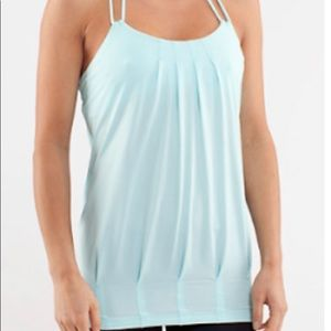 Size 6 aquamarine flow and go tank